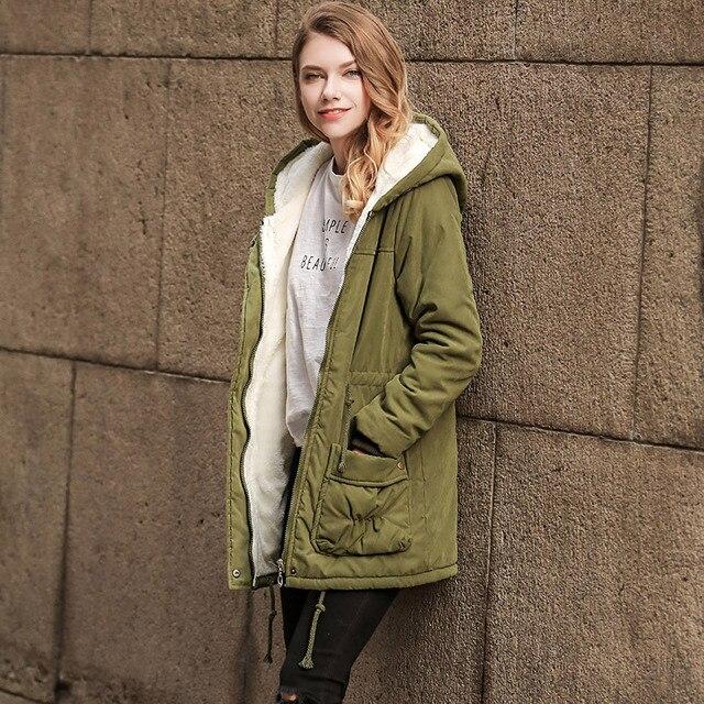 ZYSK 2018 New Long Parkas Women Winter Jacket Coat Thick Cotton Warm Jacket Womens Outwear Parkas Plus Size XXL Fur Jackets Coat