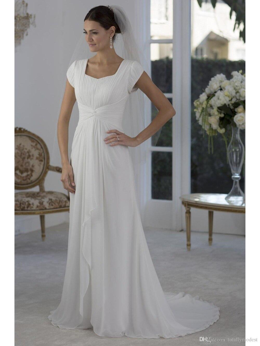 Popular Modest Simple Wedding Dresses-Buy Cheap Modest Simple ...