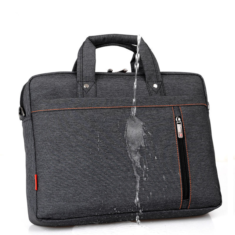 Waterproof Computer Laptop Bags Notebook Tablet Case Messenger Shoulder Bag for Men/Women 13 14 15 17 Inches 13 14 15 17inch big size nylon computer laptop solid notebook tablet bag bags case messenger shoulder unisex men women durable
