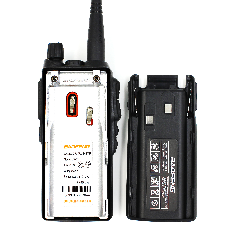 BaoFeng UV-82 8W Two Way Radio Ham Radio UV-82HP Walkie Talkie Tri-Power Dual band 136-174MHz 400-520MHz Handheld FM Transceiver