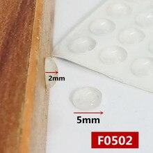 100 зерна шкаф дверной ограничитель прозрачного силиконового материала для кухонного шкафа самоклеющиеся демпфер для дверных стопор