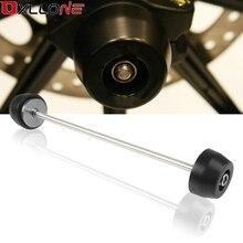 Motorcycle Front Fork Wheel Frame Engine Case Slider Anti Crash Pads Cover Moto Falling Protector For Ducati monster 1200/S/R