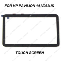 new 773143 501 for HP Pavilion 14 V062US 14 V063US Laptop Touch Screen Digitizer Replacement sense glass display