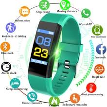 2019 New Smart Bracelet Watch Men Blood Pressure Heart Rate Monitor Band Pedometer Sport Fitness Tracker Wristband