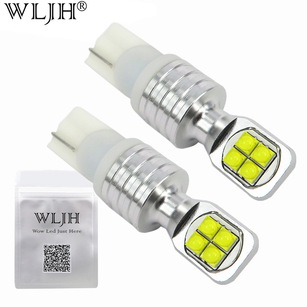 wljh 2x 40w t10 led w5w bulb 12v 24v motorcycle auto car. Black Bedroom Furniture Sets. Home Design Ideas