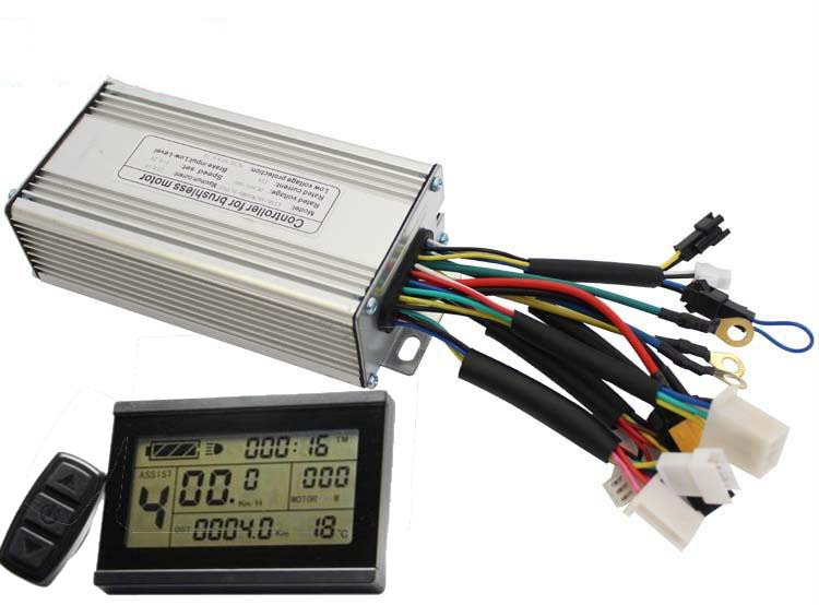 ConhisMotor 24V/36V/48V 250W 350W 20A Ebike Brushelss Controller Regenerative and Reverse Function LCD3 Bicycle Conversion Part цена