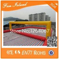 Бесплатная доставка customzied надувные Волейбол суд, забавные надувные пляжные Волейбол суд, круто надувные Волейбол