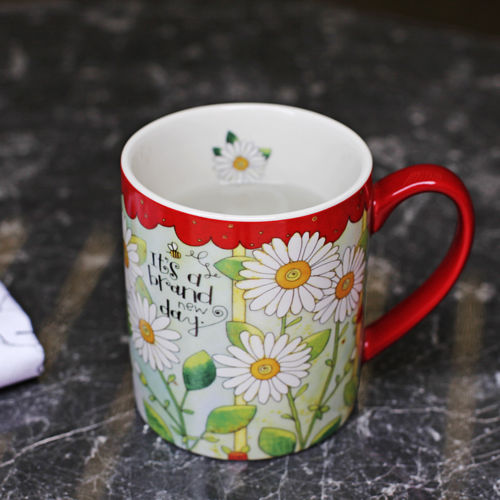 Eco Friendly Personality Novelty Cute Ceramic Handgrip Cups And Mugs