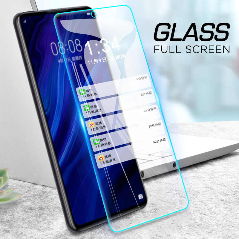 Transparent Tempered Glass for Huawei Honor 8X Max 7A 6C 7C Pro 10 9 8  Lite Full Cover Screen Protector Film for Honor 8C Play