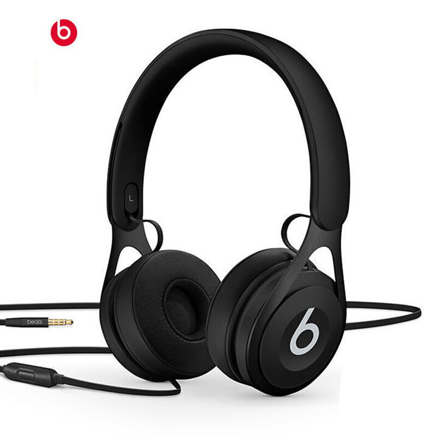 Beats EP 3.5mm Wired Headphones Stereo Music Headset Line Control with Microphone noise cancelling Portable Bass Earphone chrome plated wired control plate for jazz bass total approx 152 54 mm l 344