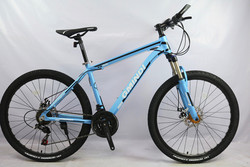 High quality 26 inch bicycle steel 21 speed aluminum frame, mountain bike brake pedal, mechanical disc brake, bicycle TROPIX