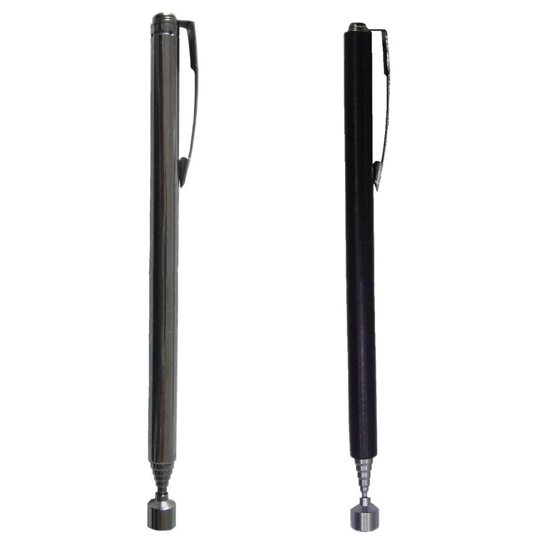 1 Pcs Mini Draagbare Telescopische Magnetische Magneet Pen Handige Tool Capaciteit Voor Picking Up Moer Bout Uitschuifbare Pickup Staaf Stok Koel In De Zomer En Warm In De Winter