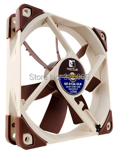 Brand new original, Noctua NF-S12A-ULN fan, 120mm, Silent 6.7dBA, 3pin fan SSO 2 generations bearing | 800RPM silent wire nf reference mk3 rca 2x0 8m