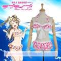 Anime Love live! Minami Kotori Cosplay  Costume Swimsuit Awakening Summer swimwear Bikini Costume Lycra  S-XL Full set