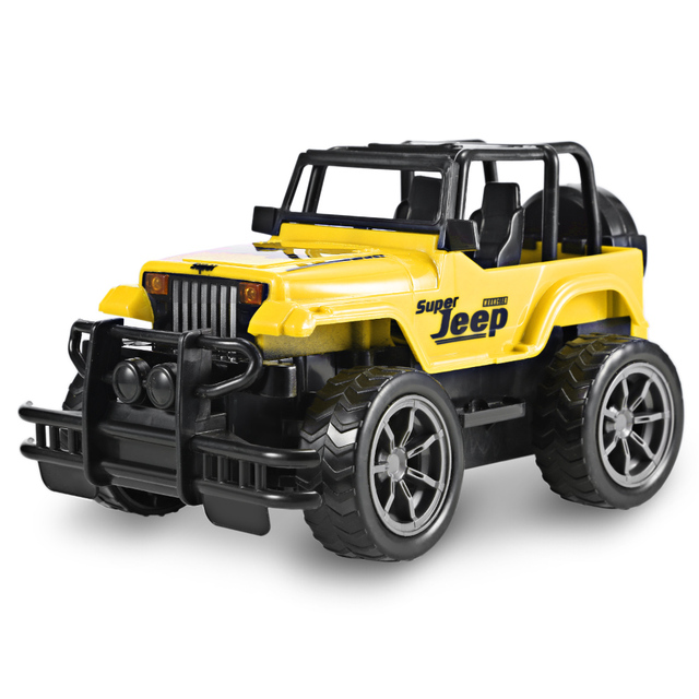 1:24 Scale 35Hz Wireless Remote Control RC Cars 10km/H Vehicle Remote Control Car Off-Road Jeep SUV Electric Toy Children Gift