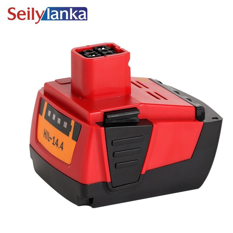 Pour Hilti batterie au lithium 14.4VA 4000 mAh B144, SF144-A, SFH144-A, SIW144-A, SID144-A, Li-ion électrique 4.0Ah
