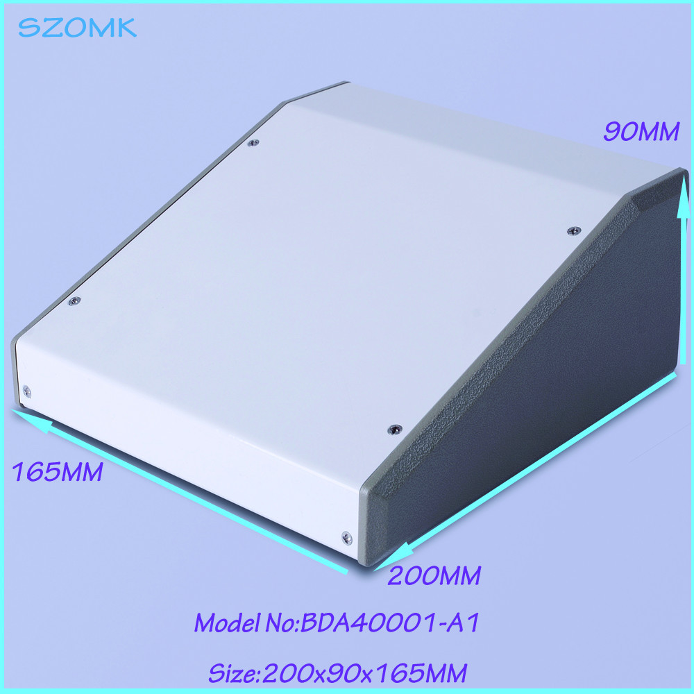 (1pcs )200x90x165mm diy cabinet iron electrical junction box, project box pcb steel enclosure electronic enclosure iron 4pcs lot customized and anodizing aluminium amplifiers cabinet electronic junction box 38 88 110mm