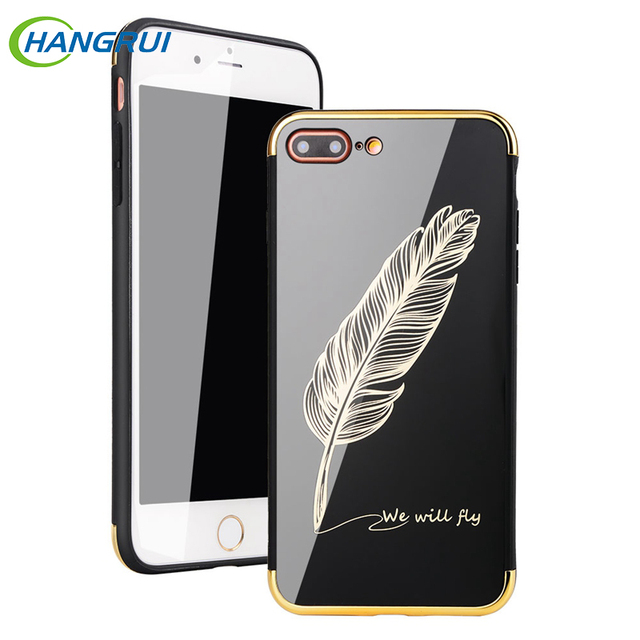 iphone 8 mirror case feather