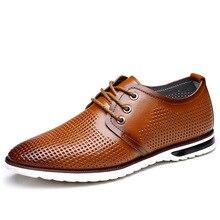 Nouveau 2017 hommes de Cuir Véritable Casual Chaussures Superstar Chaussures Mocassins Hommes Chaussures D'été