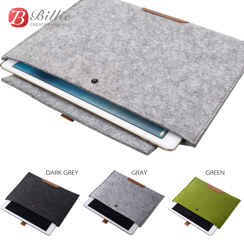 High Quality Wool Felt For apple ipad pro 12.9 Case Sleeve For iPad Pro 12.9 inc