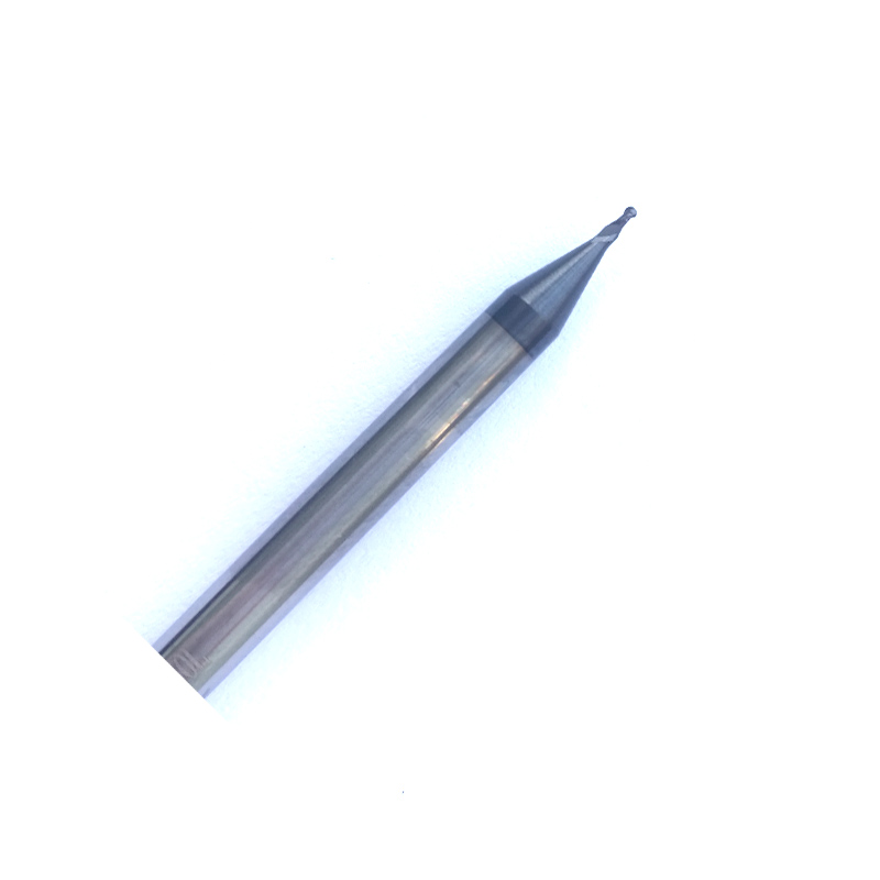 R2.0mm Ball Nose Carbide End Mill CNC Cutter Router Bits 4mm Shank 2 Flutes