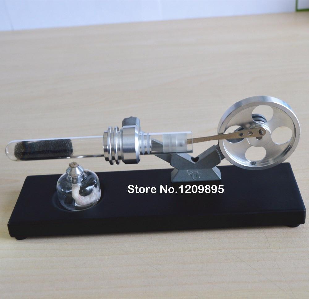 Stirlingmotor model Wetenschappelijk experiment Thermische echo - School en educatieve benodigdheden - Foto 2