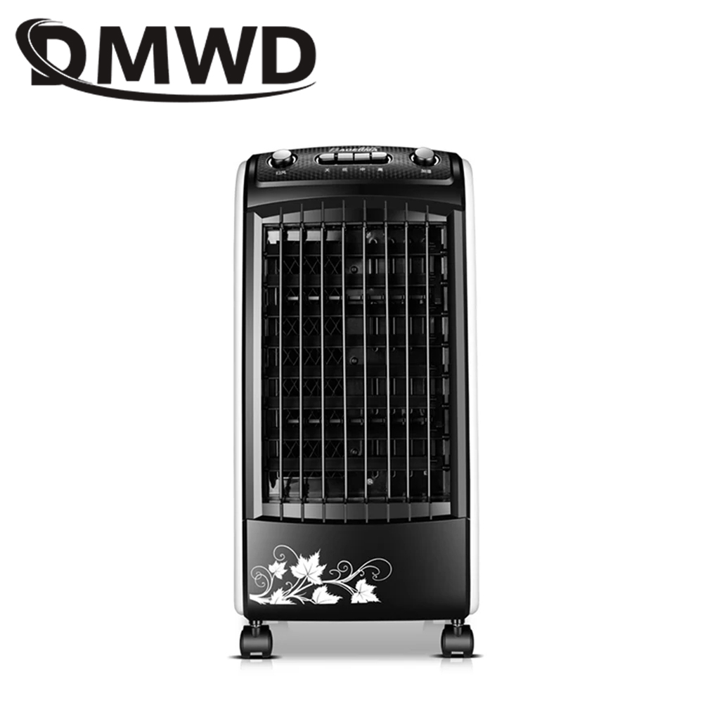 DMWD Electric Air-conditioning Fan Humidifier Arctic Cold Strong Wind Cooling Fans Remote Control Water-cooled Summer Cooler EU dmwd portable strong wind air conditioning cooler electric conditioner fan mini air cooling fans humidifier water cooled chiller