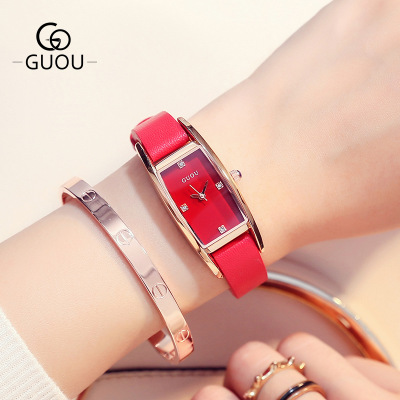 New Famous Brand Watch Women Fashion style Square dial Quartz Watches Ladies Rhinestone Leather Wristwatch relogio feminino big dial rotating flower wristwatch women dress rhinestone watches fashion casual quartz watch luxury brand relogio feminino