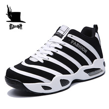 New Sports Shoes Men's Sneakers Air Traning Jogging Athletic Shoes Outdoor Breathable Impact Resistance Basketball Shoes For Men