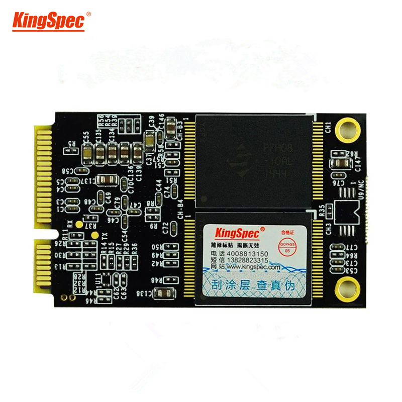 <font><b>KingSpec</b></font> high quality internal msata 64GB <font><b>128GB</b></font> 256GB 512GB msata <font><b>SSD</b></font> with cache for ultrabook Tablet Sata III 6Gbps hard drive image