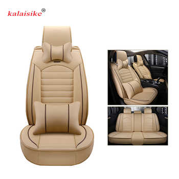 Kalaisike leather Universal Car Seat covers for Geely Emgrand EC7 X7 FE1 car styling automobiles Interior auto Cushion - DISCOUNT ITEM  61% OFF All Category