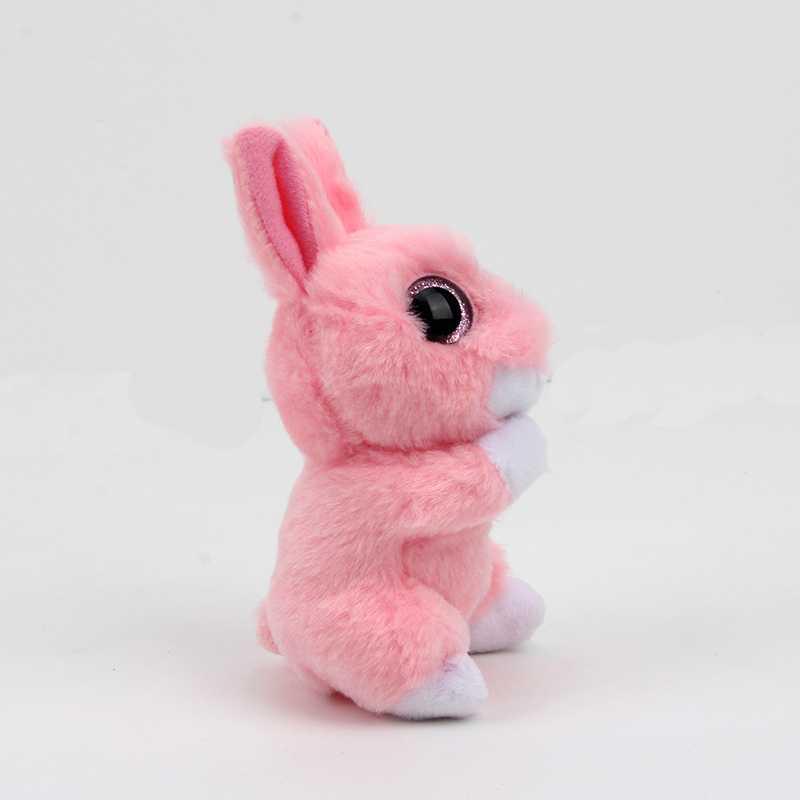 bcf05df14fe Details of ty beanie boos big eyes plush toy beanie babies Kawaii Pink  Rabbit Plush doll stuffed animal baby Christmas present Birthday gif click  image.