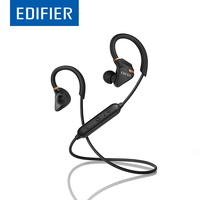EDIFIER W296BT Bluetooth Earphones Waterproof IPX5 Strong Bass Stereo Bluetooth 4 1 Earphone With Mic For
