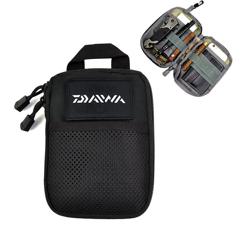 Outdoor fishing DAIWA Dawa bag portable compact large capacity pockets sea fishing rock fishing multi-function For Fishing