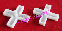 100pcs/bag 5.0mm with handle plastic cross/ tice spacer/tracker/locating/ceramic cross  white color locate the ceramic tile