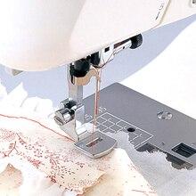 1 шт. складывающийся подол прижимная лапка комплект для машинного домашнего инструмента