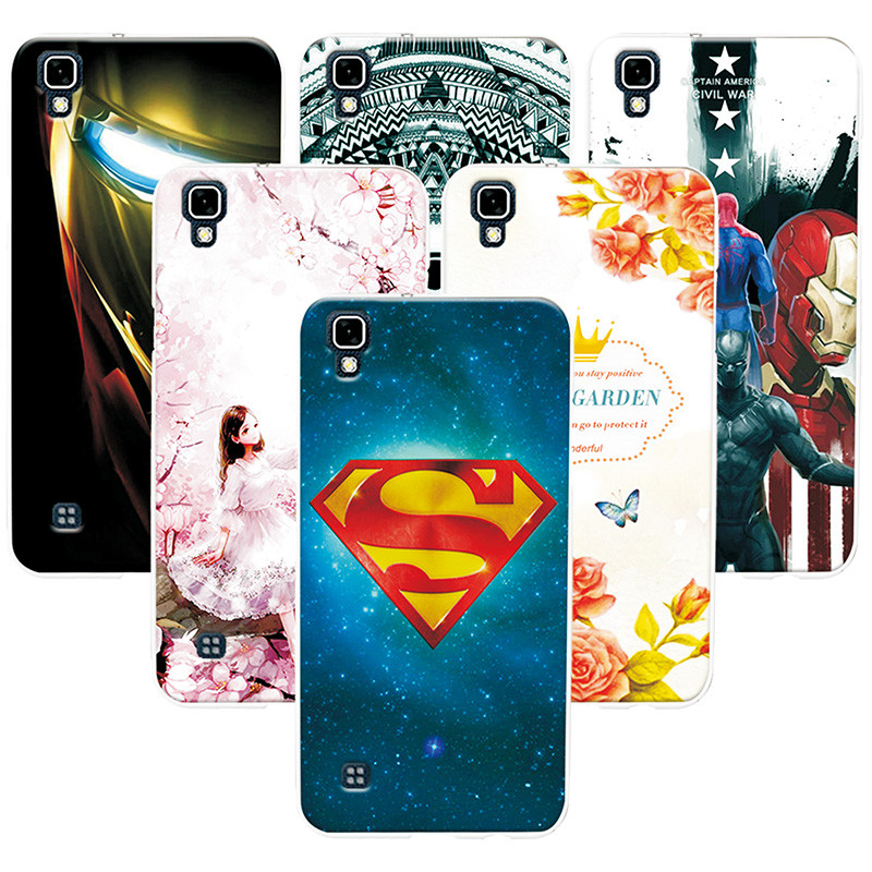 05a728a4ad8 Attractive Phone Case For LG X Style Fashion Painted Back Cover For LG X  Style K200DS Soft Tpu Coque Case For LG XStyle 5.0