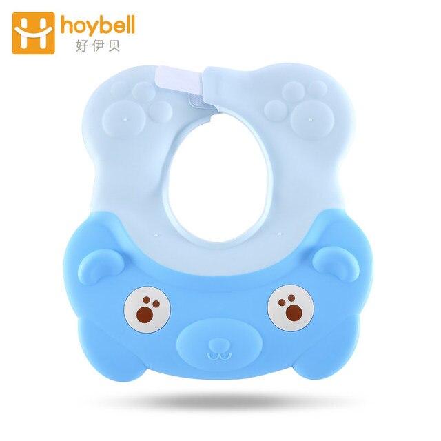 Baby Shower Cap Soft Adjustable Bath Shampoo Visor Hat For Toddler Safe Waterproof Protec