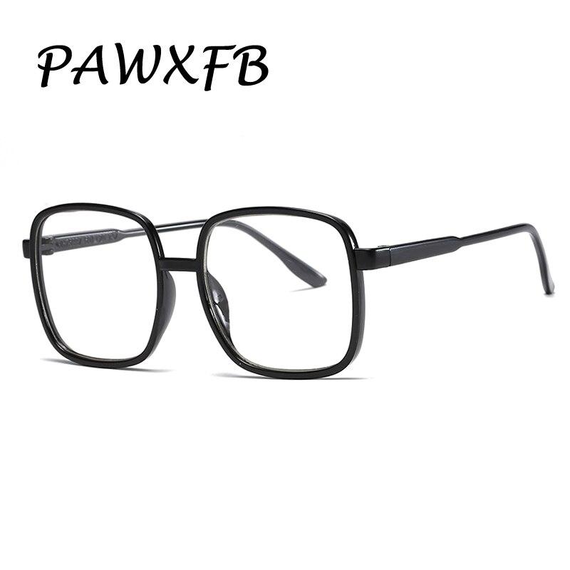 PAWXFB 2019 Vintage Retro Square Eyeglasses Brand Designer For Women Glasses Fashion Men Optical eye glasses Frame Eyewear in Men 39 s Eyewear Frames from Apparel Accessories
