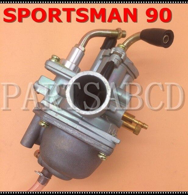US $12 99 |Carburetor For POLARIS SPORTSMAN 90 2004 ATV Manual Cable Choke  90cc Carb 2 Stroke-in ATV Parts & Accessories from Automobiles &