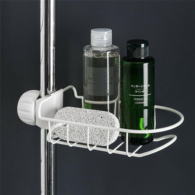 Stainless Steel Kitchen Sponge Holder Tap Hanging Storage Holder Rack Home Kitchen Faucet Sink Brush Soap Drainer Rack Tool