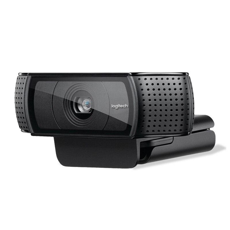 Logitech HD Pro Webcam C920e, Appels Vidéo Grand Écran et D'enregistrement, 1080 p Caméra, de bureau ou Ordinateur Portable Webcam, C920 mise à niveau version - 3