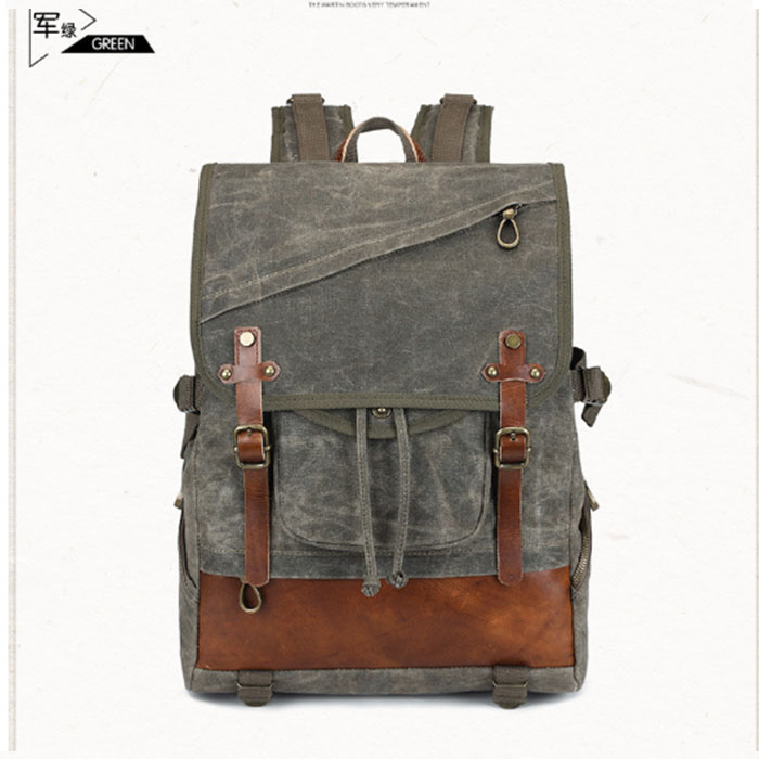 Retro Men Male Canvas College School Student Backpack Casual Rucksack Travel Bagpack Laptop Bag Women Bag Couple Backpack canvas splicing backpack men retro trendy casual laptop bag women durable casual school bag stylish schoolbag