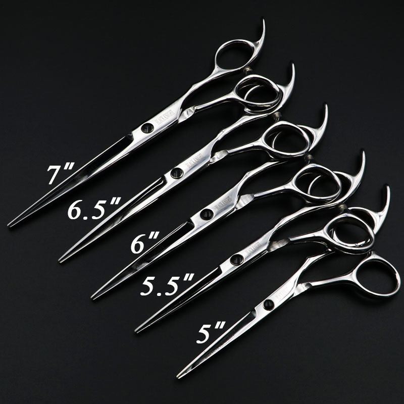 """5""""/5.5""""/6""""/6.5""""/7"""" Hair Scissors Professional Hairdressing Scissors Set Cutting Barber Shears High Quality Personality"""
