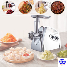 Multifunction Electric Meat Grinder Mincer filler Sausage Filling Maker Machine stuffer vegetables Slicer Cutter 110V or 220V недорого