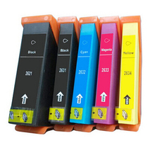 Hisaint For Epson 2621 2631 2632 2633 2634 Ink Cartridge For Epson XP-600/605/700/800 XP-810/710/615/610 Ink Jet Printer