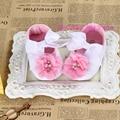 Дешевые Девочка Цветок Обувь, Sapatos Ребенок, Новорожденных Обувь, Детские Девушка Обувь, Мягкой Chaussure Филь, Bebe Сапоги
