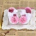 Barato Bebé de La Flor Zapatos, Sapatos Bebé, Zapatos de Los Bebés recién Nacidos, Calzado Infantil de La Muchacha, Suaves Chaussure Fille, Bebe Botas