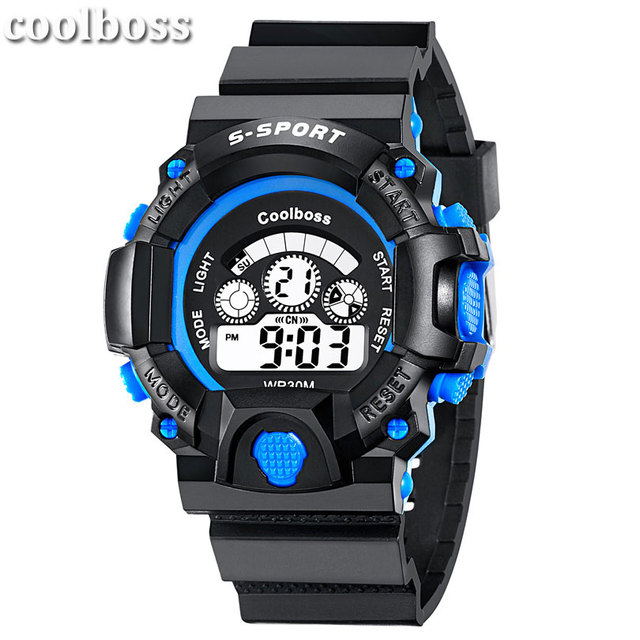2018 Sport Style Student Children Watch Kids Watches Boys Girls Clock Child LED