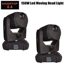 Darmowa wysyłka 2 jednostka 150 W Spot Led ruchome głowy światło stroboskopowe  profesjonalne 14/16 kanał 150 W AC 100 240 V dźwięk aktywny dla KTV klub|moving head light|led movingled moving head light -
